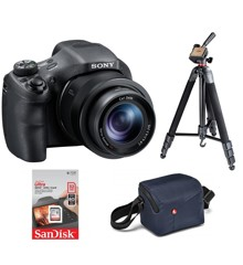 Sony - Compact Camera Cybershot DSC-HX350 Bundle