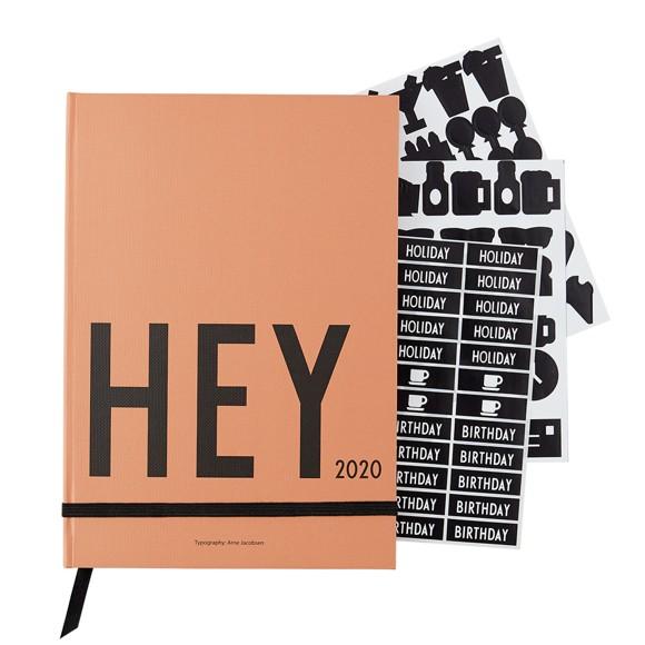 Design Letters - Hey Bog Kalender 2020 - Camel
