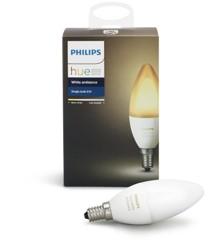 Philips Hue - E14 Single Bulb  - White Ambiance