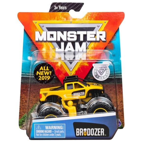 Monster Jam - 1:64 Single Pack - Brodozer (20105709)