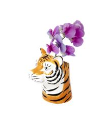 Rice - Ceramic Tiger Vase