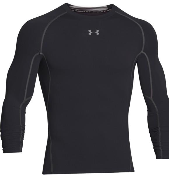 Under Armour Heatgear Compression T-shirt Sort