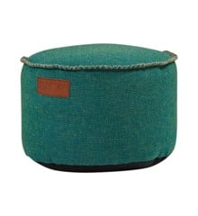 SACKit - RETROit Cobana Drum Puf - Petrol Melange (8574004)