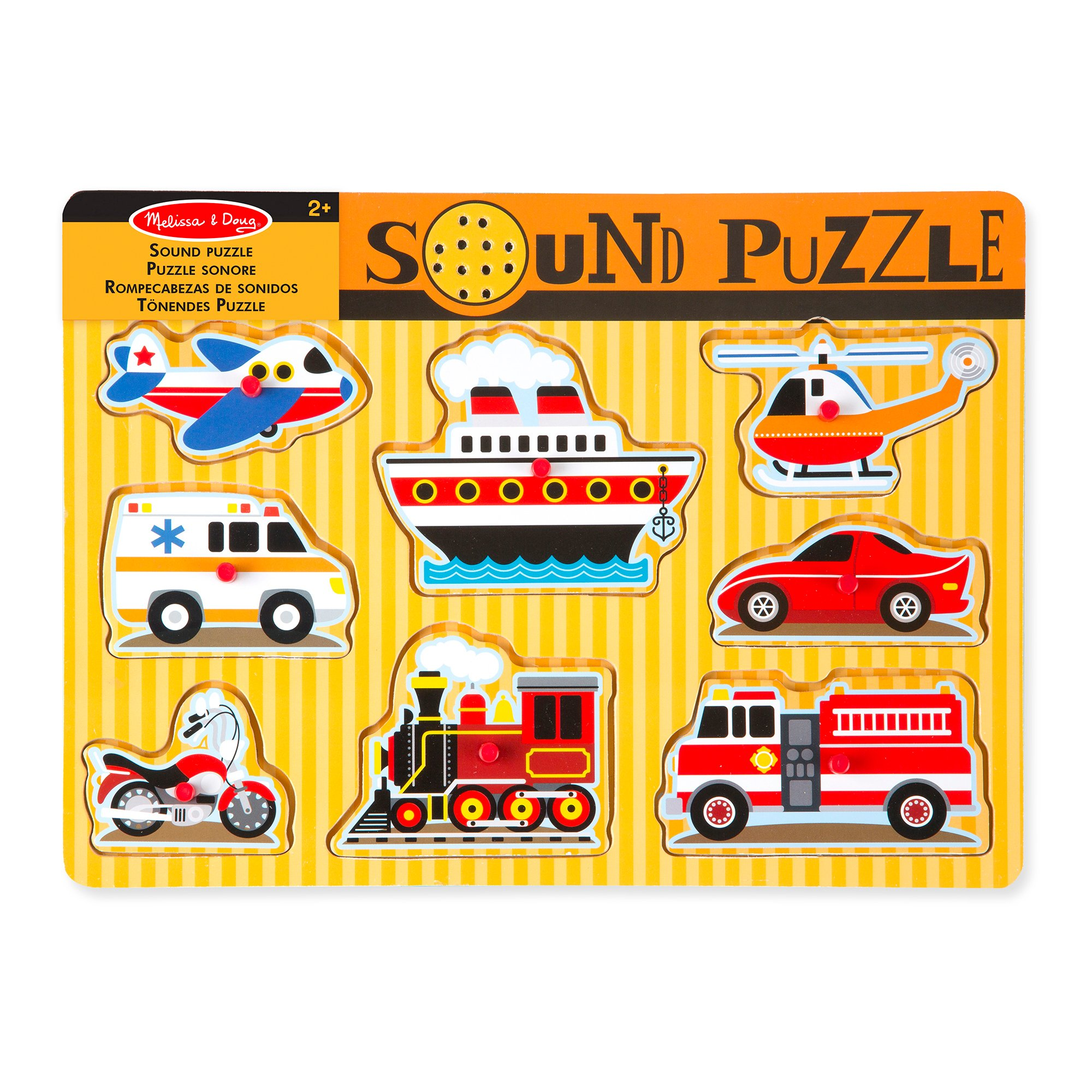 Melissa & Doug - Vehicles Sound Puzzle (10725)