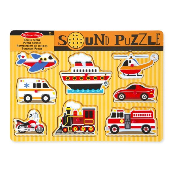 Melissa & Doug - Vehicles Sound Puzzle (10725)