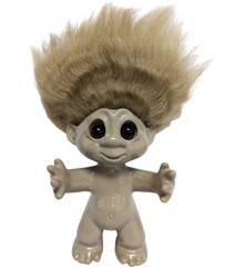 Good Luck Troll - Gjøl Trold 9 cm - Sand (93395)