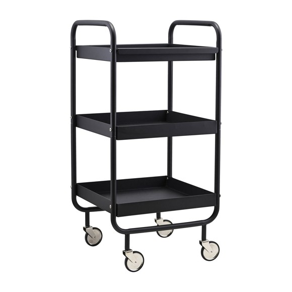 House Doctor - Roll Trolley - Black (PJ0120)
