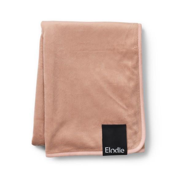 Elodie Details - Velvet Blanket - Old Faded Rose