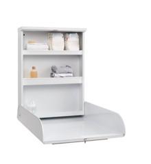 Baby Dan - Wand-Wickeltisch aus Metall - Alfred, Weiß