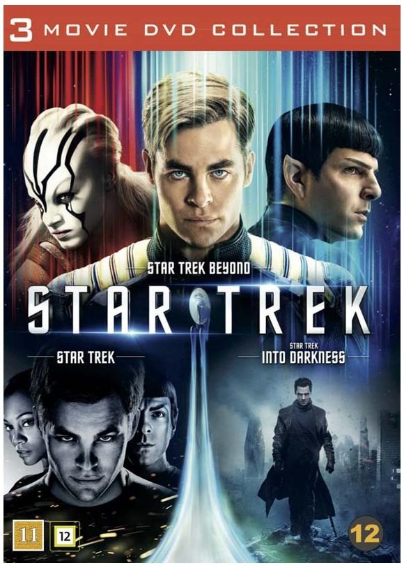 Star Trek: 3-Movie Collection (3-disc) - DVD