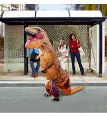 Zelfopblaasbaar Dinosaurus Kostuum