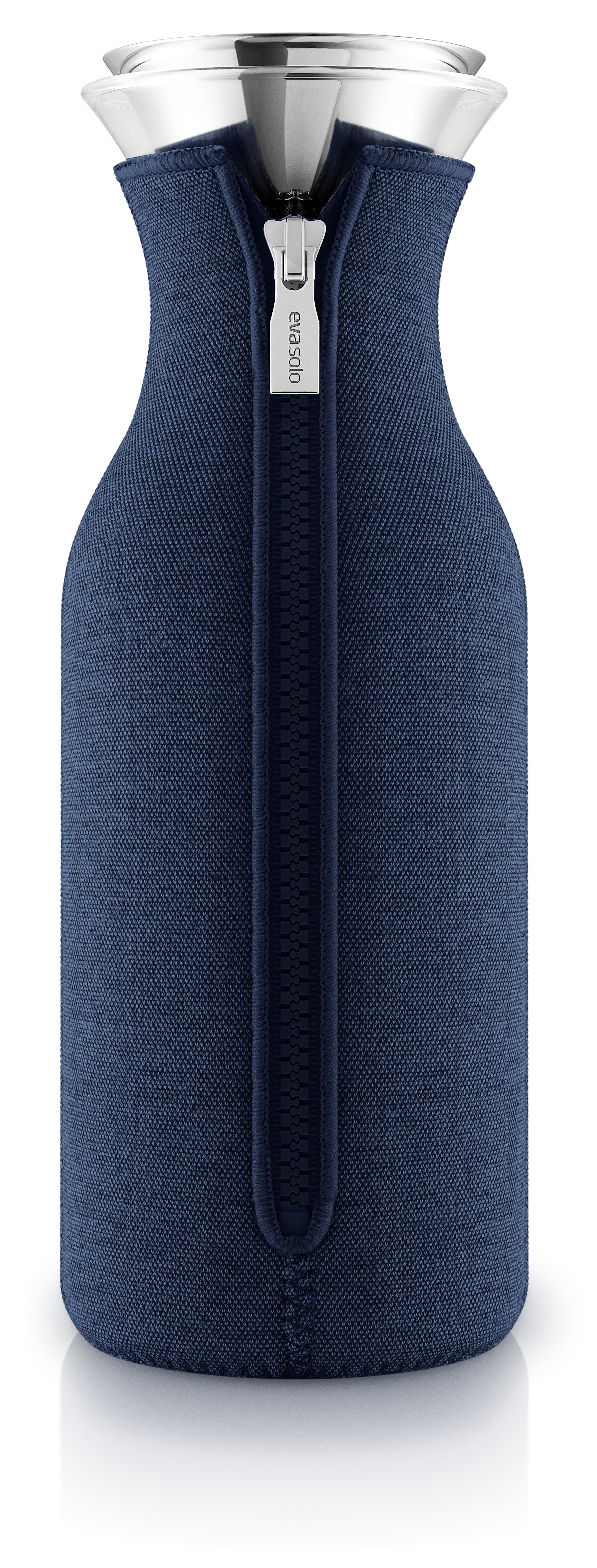 Billede af Eva Solo - Køleskabskaraffel m/neoprendragt - Navy Blue Woven