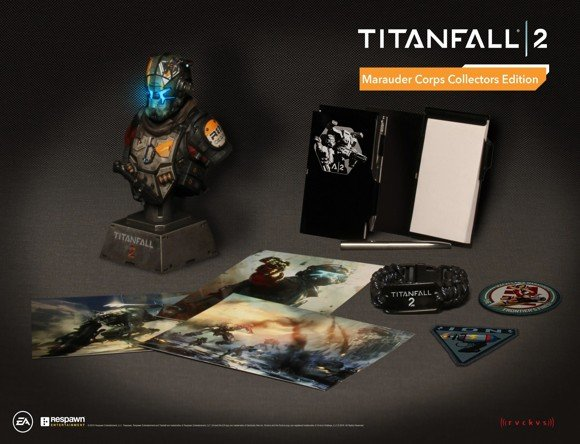 Titanfall 2 - Marauder Corps Collector Edition (Code in a box)