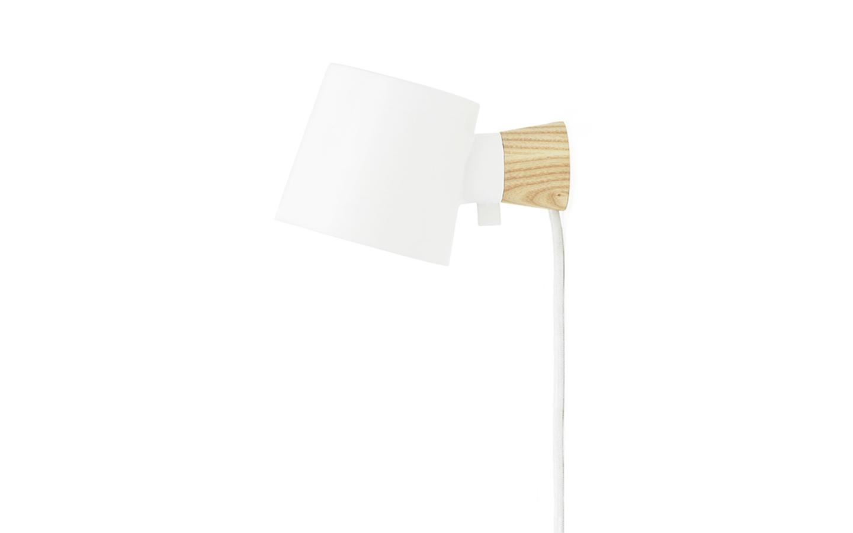Normann Copenhagen - Rise Væglampe - Hvid