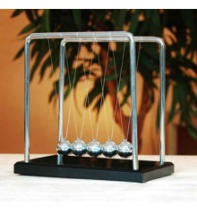 Giant Newton's Cradle - Wood & Steel Version