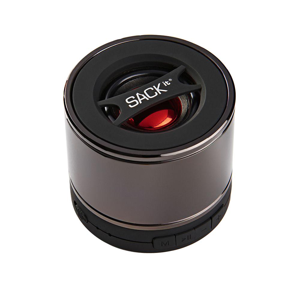 SACKit - WOOFit S Bluetooth Lautsprecher Gun Metall