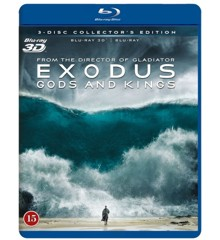 Exodus: Gods and Kings (3D Blu-Ray)