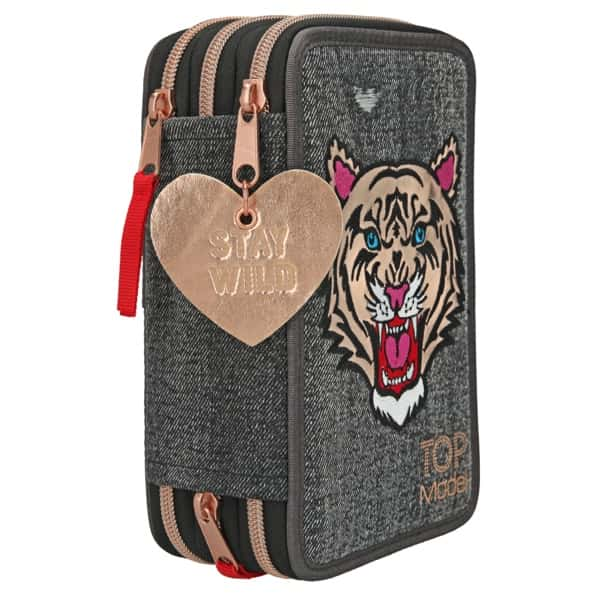 Top Model -  Trippel Pencil Case - Tiger Jeans (0410917)