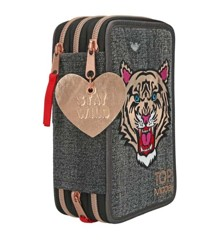 Top Model -  Trippel Pencil Case - Tiger Jeans (0410917)