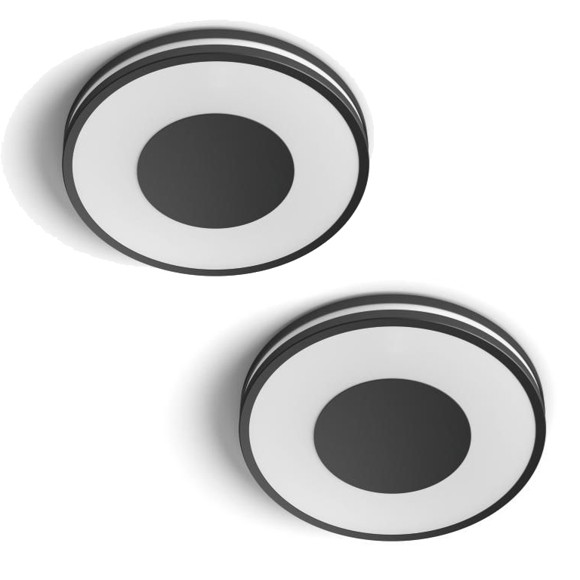 Philips Hue - Being Ceiling Light Black - 2xBundle