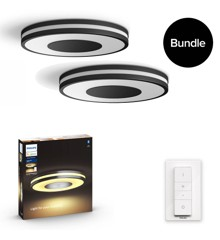 Philips Hue - Being Ceiling Light Black - 2xBundle