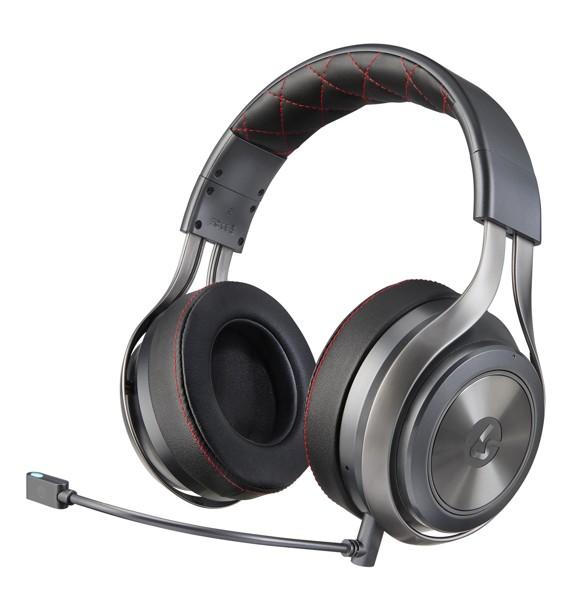 Lucid Sound - LS40 Wireless Surround Sound Gaming Headset Black