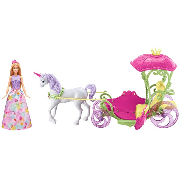 Barbie - Sweetville Kingdom Carriage (DYX31)