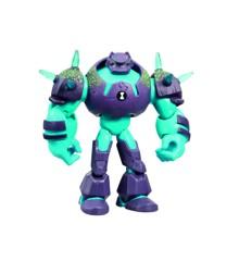 Ben 10 - Omni Enhanced Figur - Shock Rock