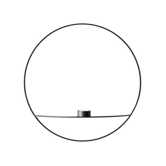 Menu - POV Circle Fyrfadsstage Large - Sort