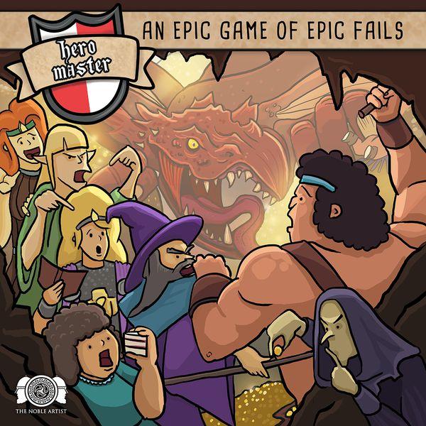 Hero Master - An Epic Game of Epic Fails (English) (HMBASE)