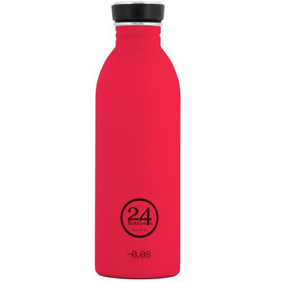 24 Bottles - Urban Bottle 0,5 L - Hot Red (24B29)