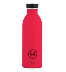 24 Bottles - Urban Bottle 0,5 L - Hot Rød