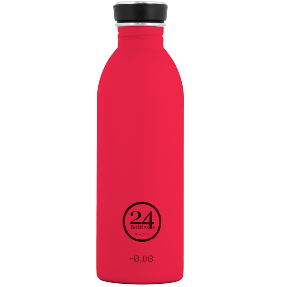 24 Bottles - Urban Bottle 0,5 L - Hot Rød