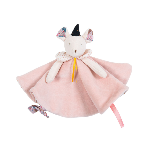 Moulin Roty - Lyserød mus nusseklud (664015)
