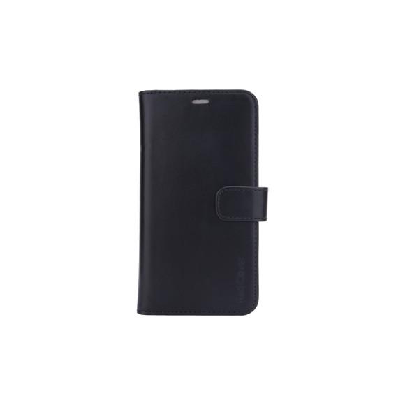 RadiCover - Strålingsbeskyttelse Mobilewallet Læder iPhone 11 2in1 Magnetskal (3-led RFI ) - Sort