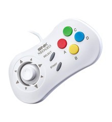 SNK NeoGeo Mini - 40th Anniversary Controller (White)
