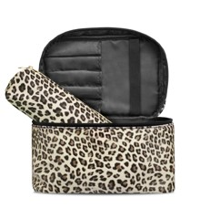 Studio - Beauty Box w. Makeup Purse - Leopard