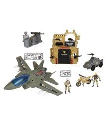 Soldier Force - Bunker Air Attack Legesæt