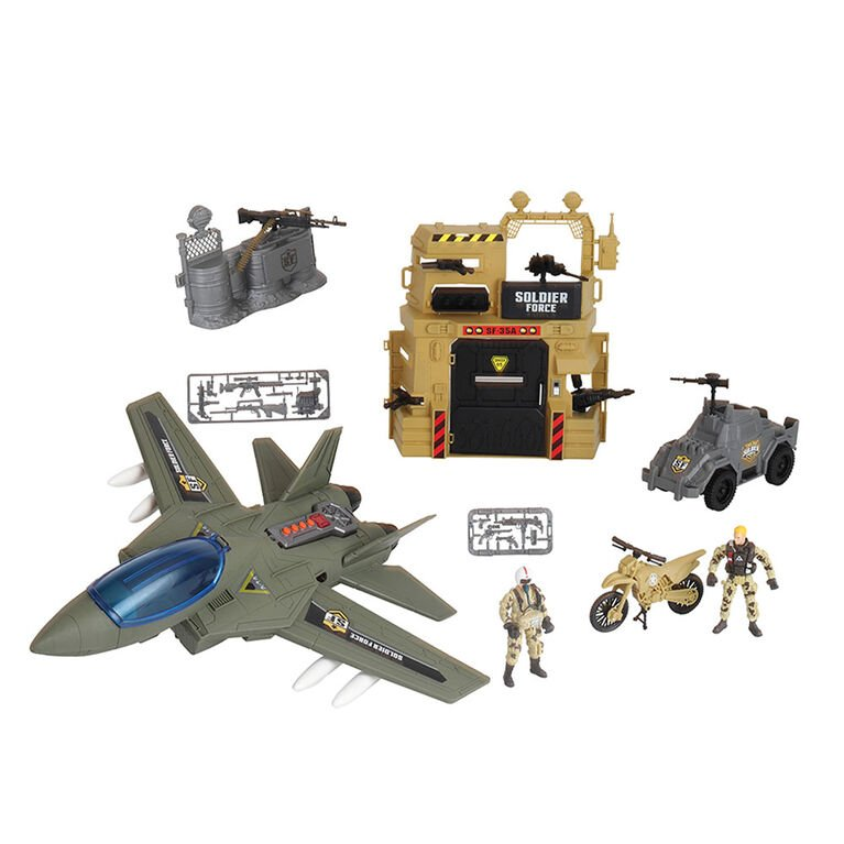 Soldier Force - Bunker Air Attack Set (545063)