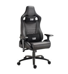 DON ONE - Gambino Gaming Chair Black/Carbon/Black stiches