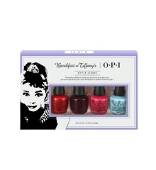 ​OPI - Neglelak Sæt - Breakfast At Tiffany's Minikit 4 x 3,75 ml