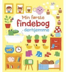 Børnebog  - Min første findebog derhjemme