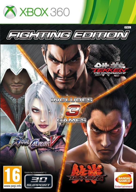 Fighting Edition: Tekken Tag 2, Tekken 6 & Soulcalibur V