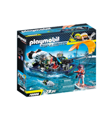 Playmobil - TEAM S.H.A.R.K. Harpoon Craft (70006)