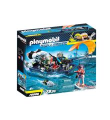 Playmobil - TEAM S.H.A.R.K. Harpun-fartøj (70006)