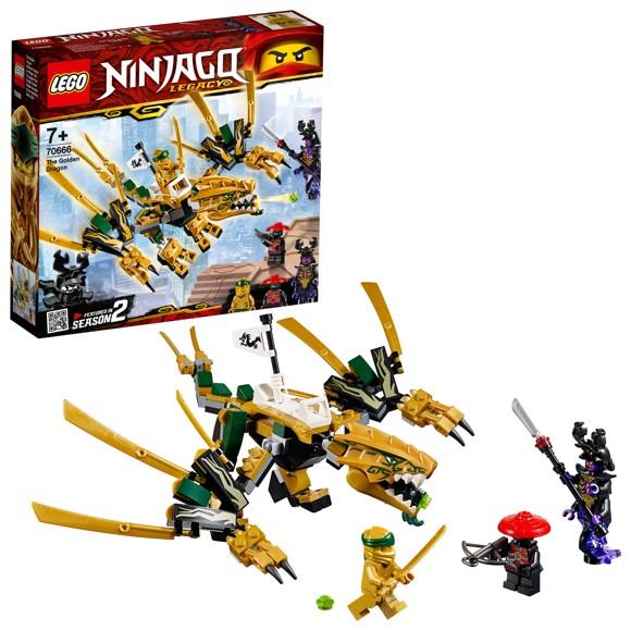 LEGO Ninjago - Den gyldne drage (70666)
