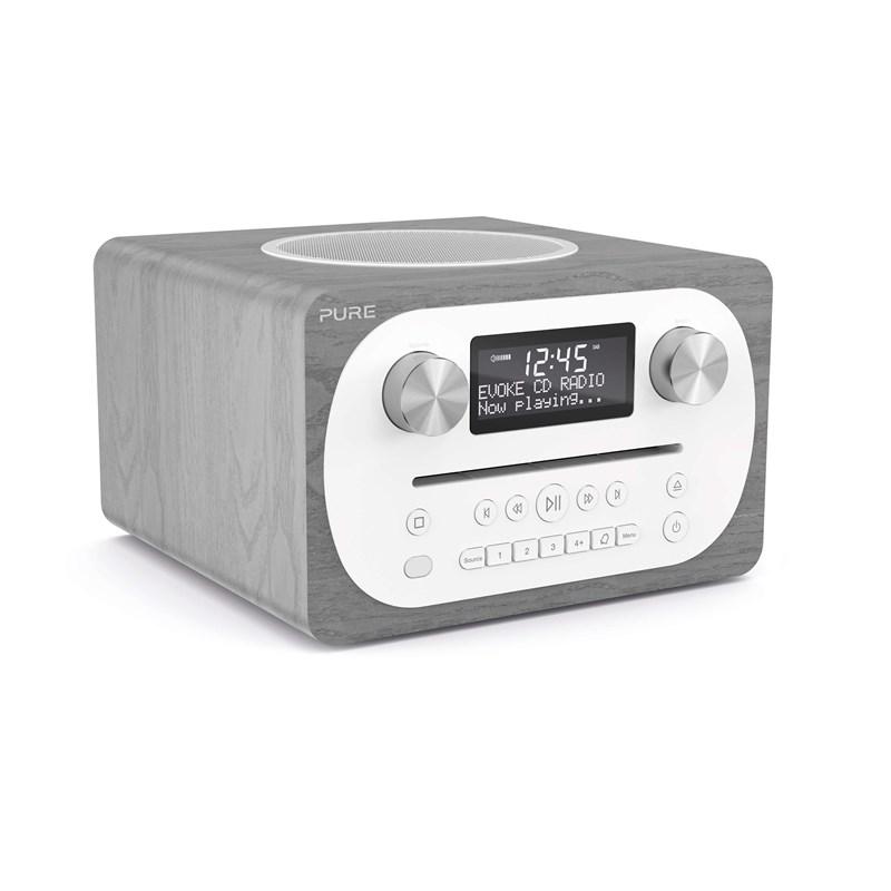 Pure - Evoke C-D4 BT DAB+ Radio Grey