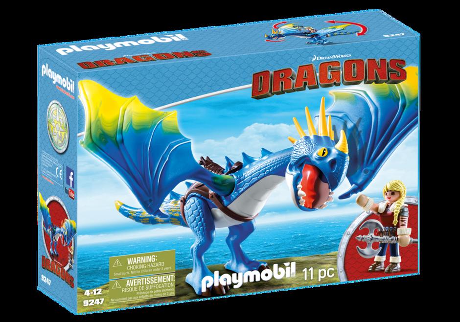 Playmobil - Dragons - Astrid & Stormfly (9247)