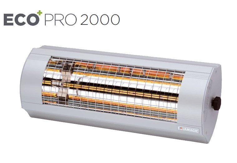 Solamagic - 2000 ECO+ PRO Patio Heater - Titanium