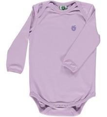 Småfolk - Økologisk Basis Langærmet Body - Lavendel